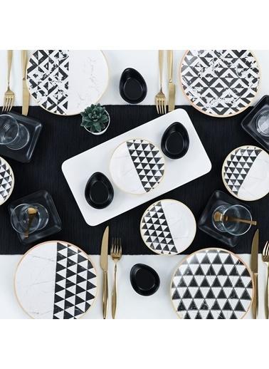 Keramika Trigon Marble Kahvaltı Takımı 21 Parça 4 Kişilik - 18765-66 Renkli
